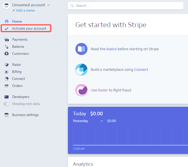 Use Stripe payments
