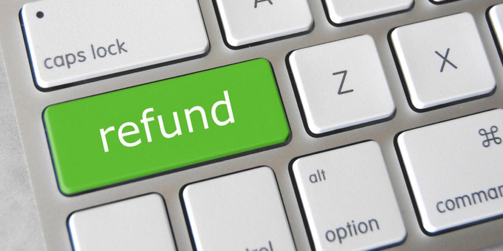 Customer requests a refund