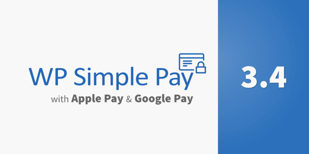 WP Simple Pay Pro 3.4 Released