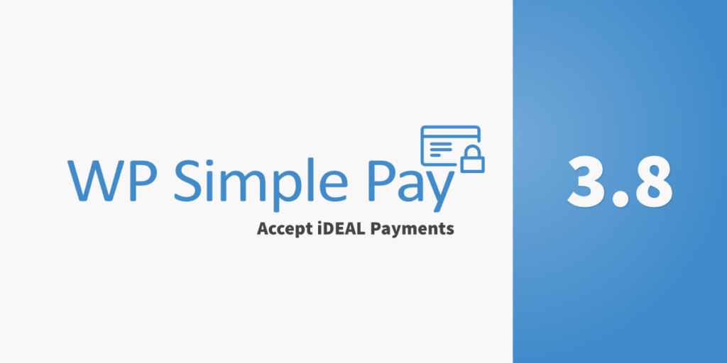 WP Simple Pay Pro 3.8 Released - Accept iDEAL Payments